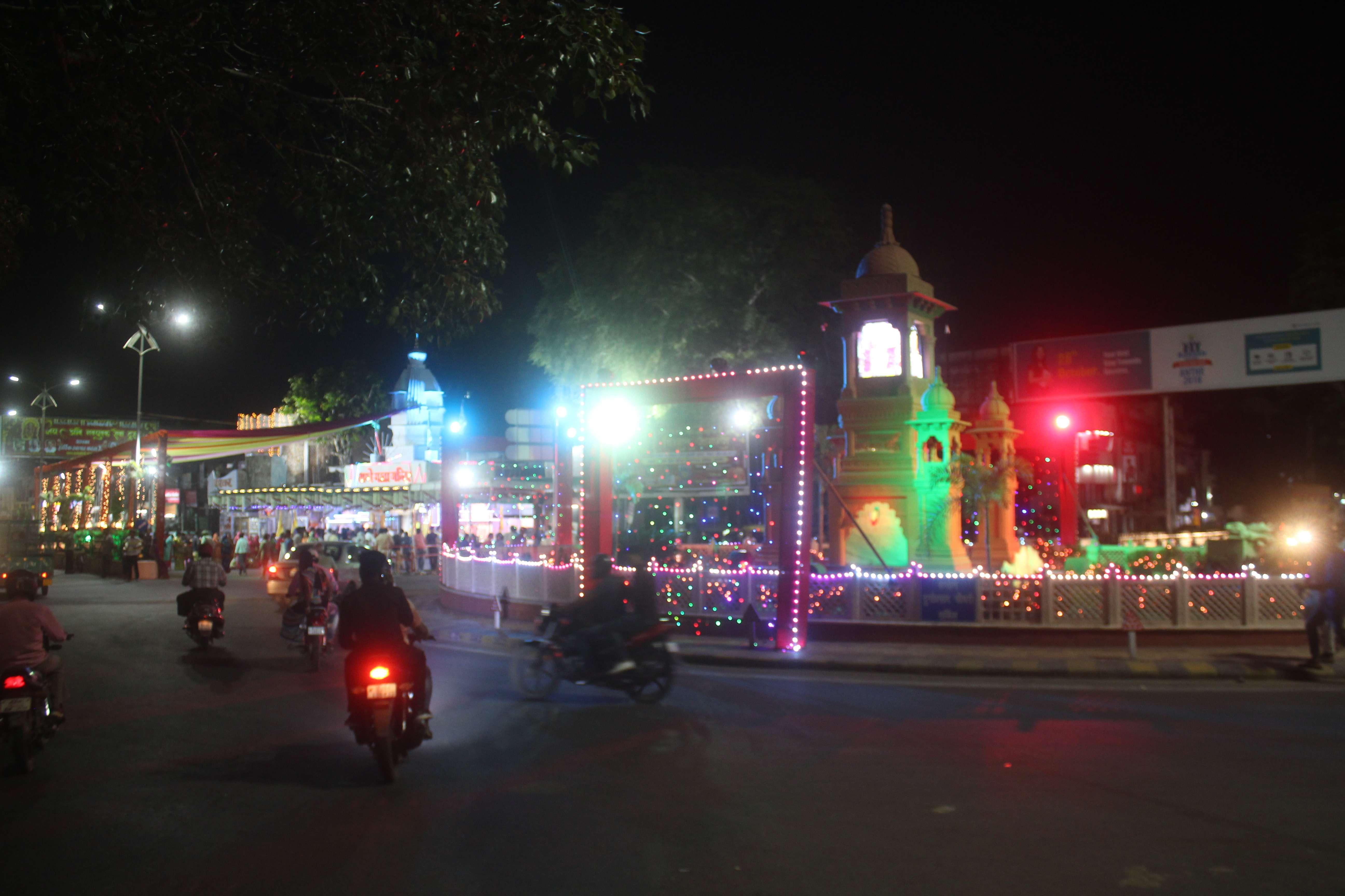 beautiful pics of shardiya navratri mahotsav