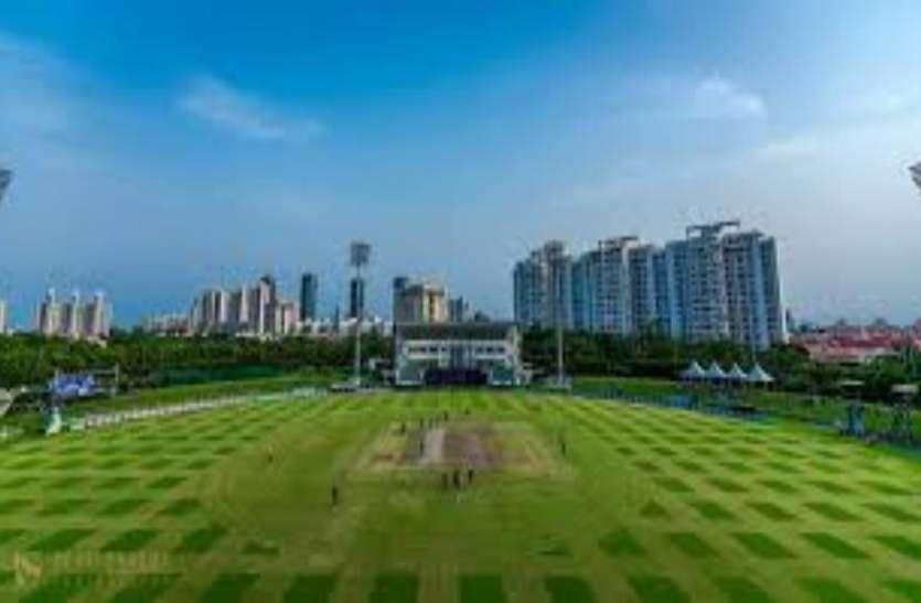 ICC का 48वां अर्तराष्ट्रीय क्रिकेट ग्राउंड हो गया बदहाल, अब मैचों के आयोजन के पड़े लाले
