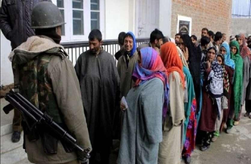जम्मू-कश्मीर: सांबा जिले में हुई रिकॉर्ड वोटिंग, बारामूला के सोपोर नगर में नहीं पड़ा एक भी वोट