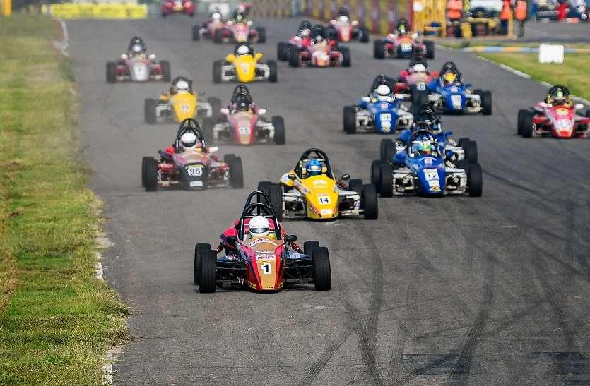 जेके टायर एफएमएससीआई नेशनल रेसिंग चैम्पियनशिप में चेन्नई के अश्विन बढ़त पर