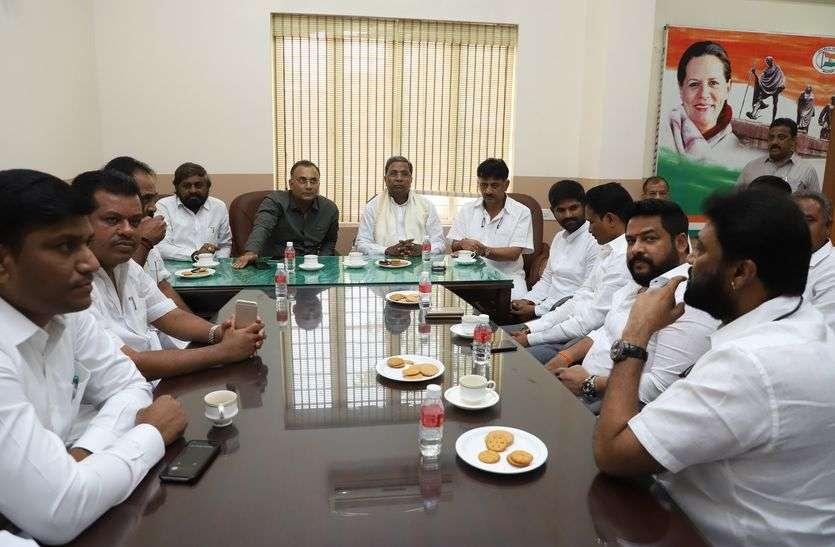 बल्लारी के कांग्रेस विधायक एकजुट : शिवकुमार