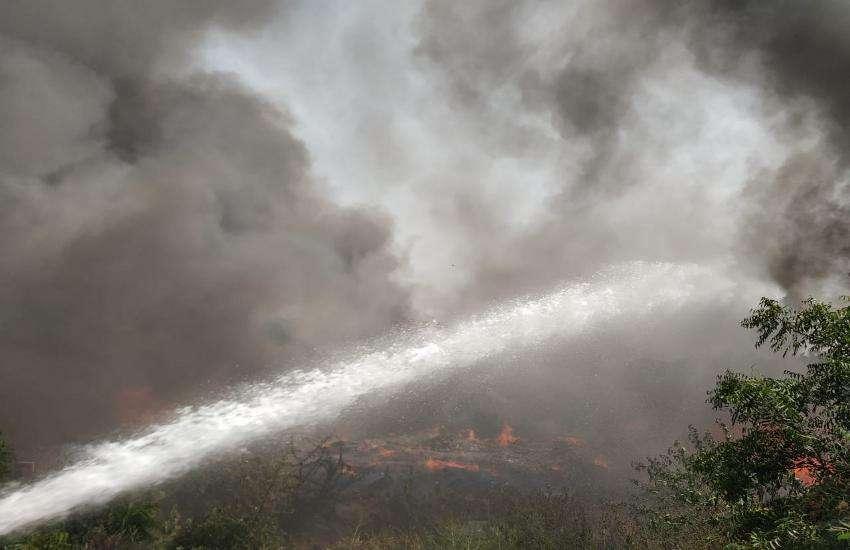 Fire in kadi GIDC
