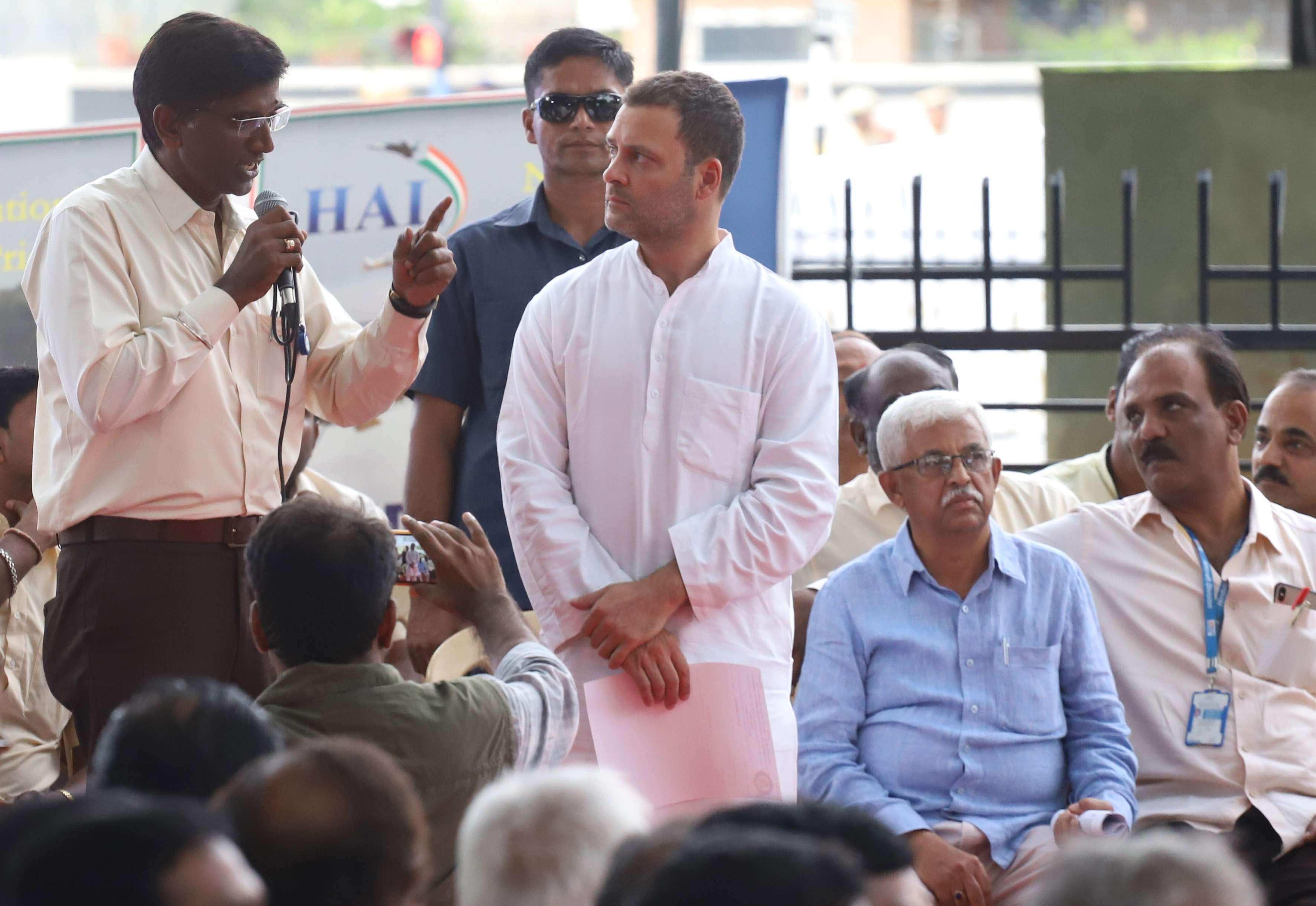 rahul at HAL