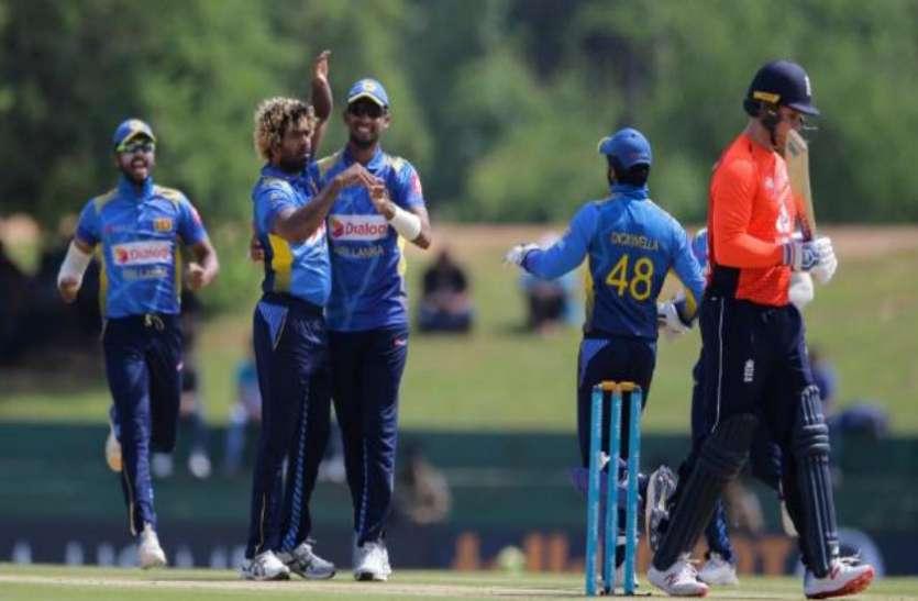 ENG VS SRI : मलिंगा ने झटके पांच विकेट फिर भी टाल न सके टीम की हार