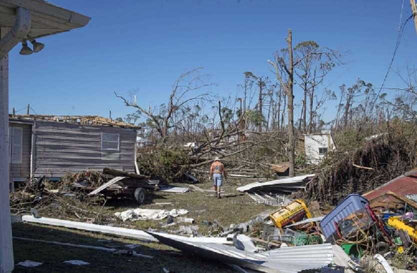 अमरीका में तूफान से बिजली, संचार और जलापूर्ति सेवा ठप, मलबा हटाने का काम जारी