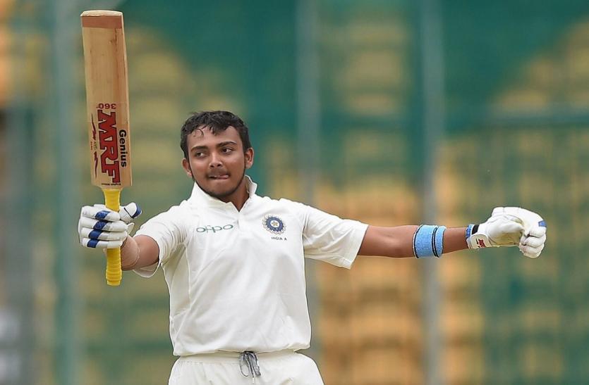 बिहार: 'मनसे ने पृथ्वी शॉ को दी क्रिकेट छोड़ने की धमकी', बचाव में उतरे कांग्रेस सांसद