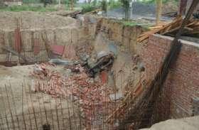 BREAKING: निर्माणाधीन छत गिरने से दो लोग घायल, गंभीर हालत में अस्पताल में भर्ती