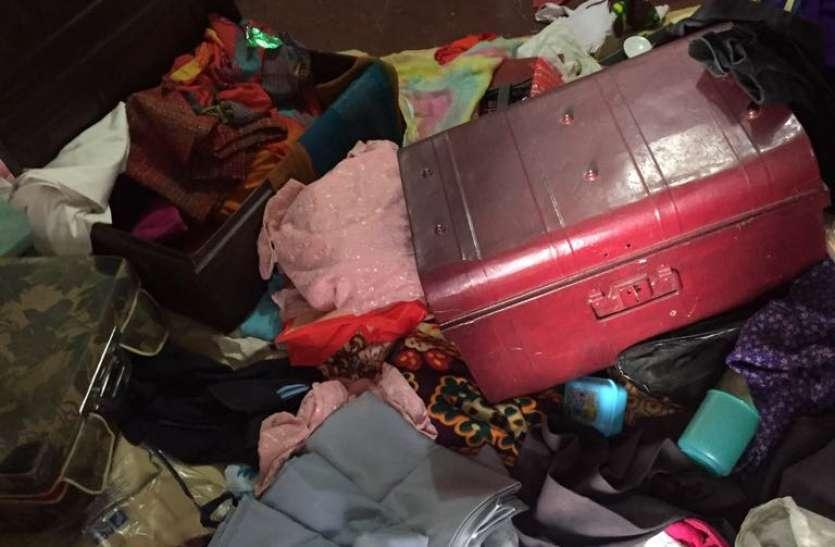 चोरों की धमा-चौकड़ी, एक ही रात छह घरों में सेंध