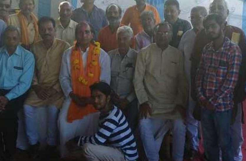 पन्ना पहुंची भगवान परशुराम यात्रा