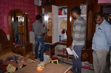 अलवर में यहां हुई 40 लाख रुपए की चोरी, जेवरात व नकदी पार कर गए चोर
