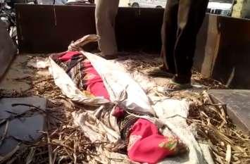 अपनी बकरी को बचाने के चक्कर में रेल की चपेट में आई महिलाएं, एक की मौत, एक घायल