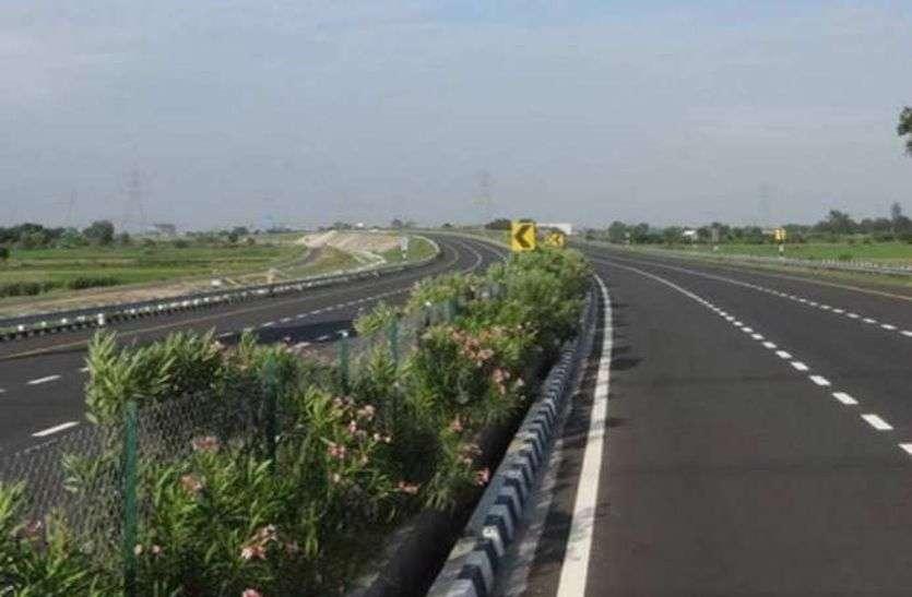 दिल्ली-मुंबई 8 लेन एक्सप्रेस वे पर वर्ष 2021 से दौड़ेगी गाडि़यां