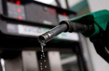पेट्रोल के दाम में नहीं हुआ बदलाव, डीजल में 8 पैसे प्रति लीटर की मामूली बढ़ोतरी