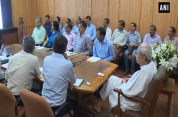 मुख्यमंत्री ने की तितली प्रभावित इलाकों की समीक्षा बैठक,प्रभावितों को मुआवजा बंटना शुरू