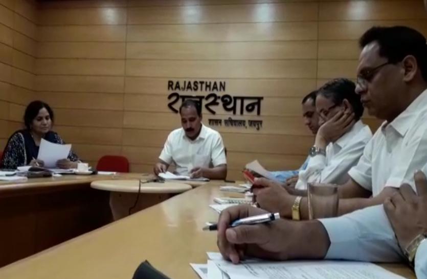 राजस्थान विधानसभा चुनावों को लेकर निर्वाचन विभाग ने ली बैठक, चुनावों में यह होगा खास, देखे वीडियो..