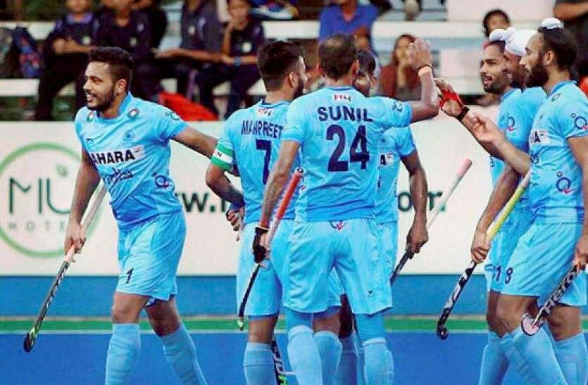 Image result for इंडियनपुरुष हॉकी टीम एशियन चैंपियंस ट्रॉफी के अपने पहले मैच में भिड़ेगी ओमान से