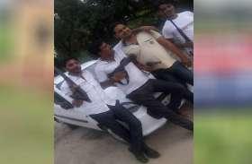 दूसरे के लाइसेंसी असलहा लेकर चलना पड़ा भारी, सपा जिला उपाध्यक्ष समर्थक को पुलिस ने उठाया