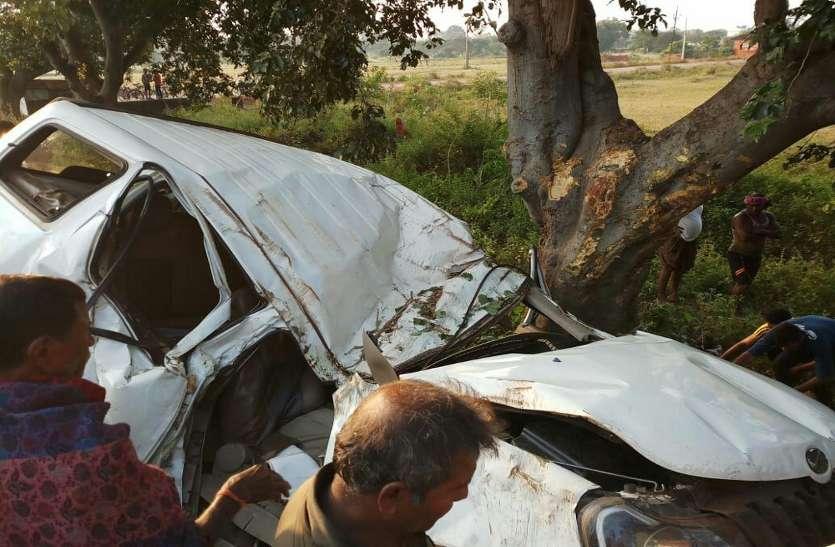 भिलाई व्यंकटेश्वर टॉकीज संचालक का परिवार दुर्घटनाग्रस्त, आंध्रप्रदेश से छुट्टी पर आए और बस्तर दशहरा देखने निकले थे, दो की मौत