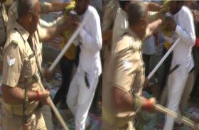 छात्र संघ चुनाव: नामांकन पत्र खरीदने के दौरान छात्रों के दो गुट आमने सामने, पुलिस ने भांजी लाठियां