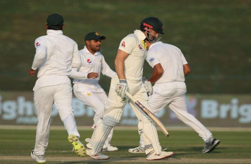 Pak vs Aus: पाकिस्तान ने कसा शिकंजा, कोई चमत्कार भी बचा सकेगा आस्ट्रेलिया की हार