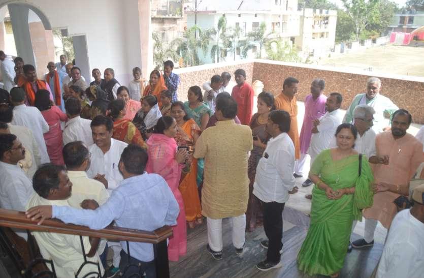 भाजपा रायशुमारी : रीवा विधानसभा के दावेदार आए सामने