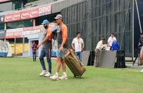 Ind vs Wi: पहले वनडे के लिए गुवाहाटी पहुंची भारतीय टीम, तस्वीरों में देखें तैयारी की झलक