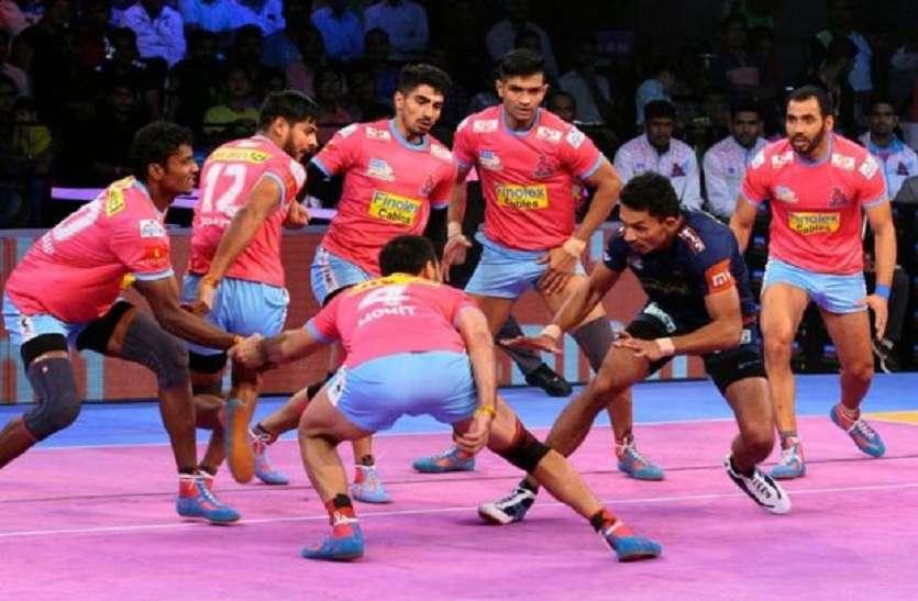 Image result for प्रो कबड्डी लीग (पीकेएल) के छठे सीजन में अपने घर में नहीं कर सकी विजयी शुरुआत