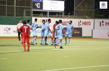 Asian Champions Trophy : दिलप्रीत की हैट्रिक से भारत की विजयी शुरुआत