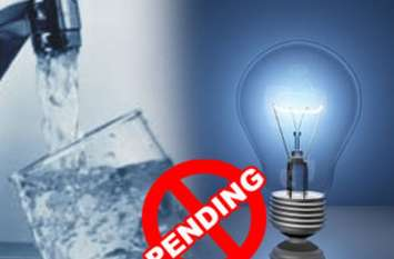 पानी-बिजली के बकाया बिल नहीं चुकाने वाले उपभोक्ताओं पर अब गिरने वाली है गाज