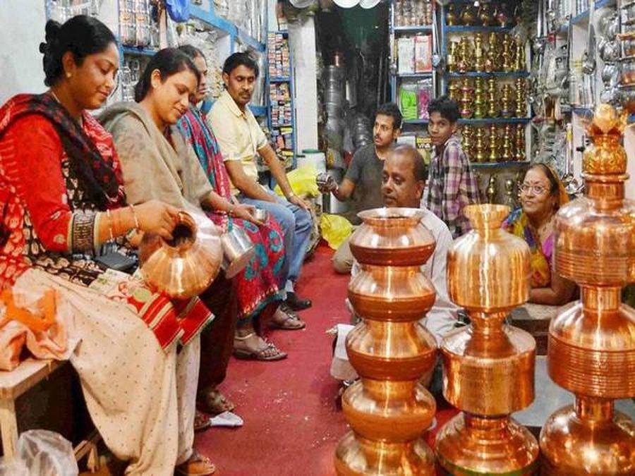 #Happy Diwali : सजी अजमेर में दुकानें, धनतेरस पर बरसेगी जमकर धनलक्ष्मी