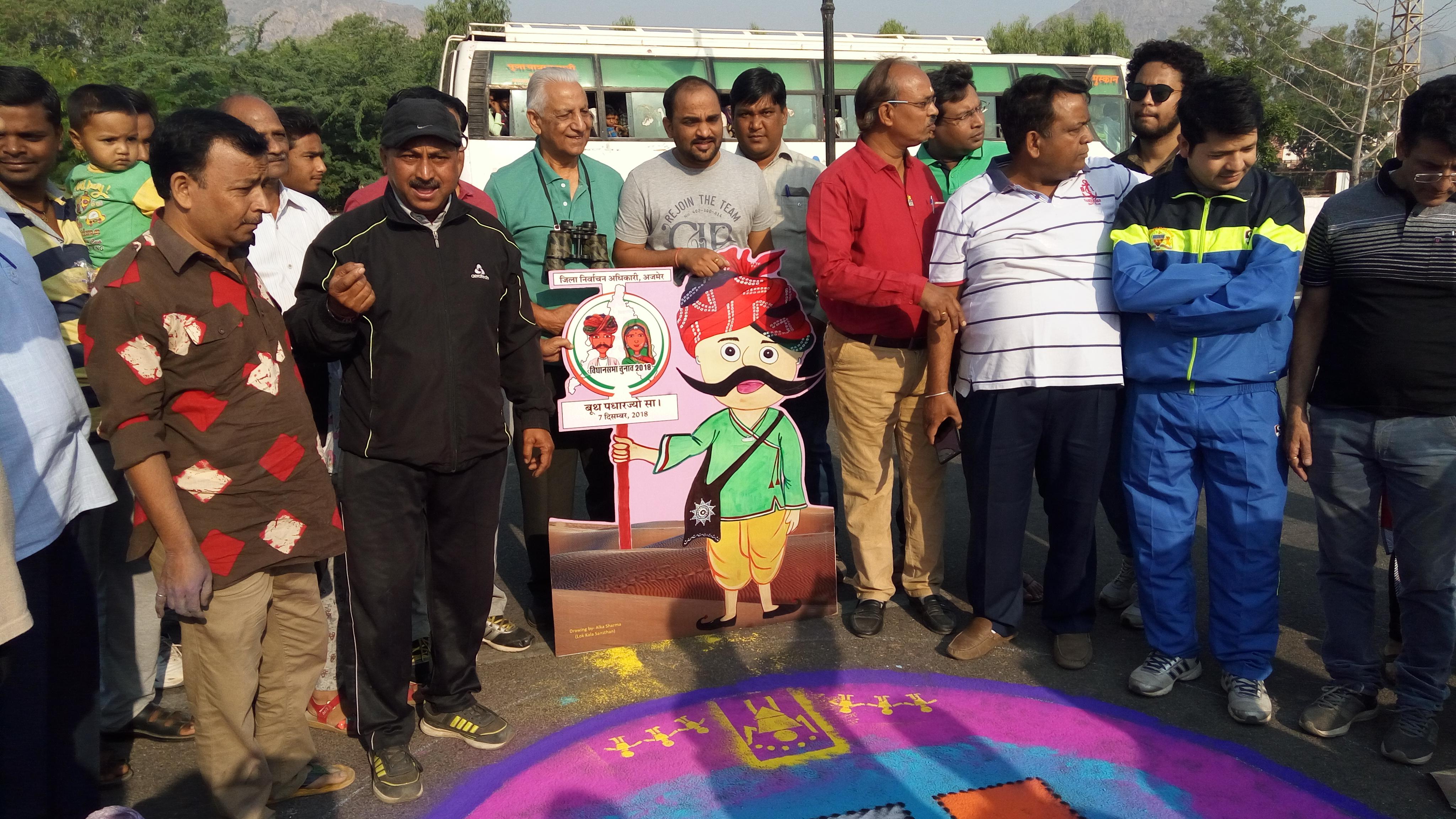 Rajasthan election 2018: बोलेंगी कठपुतलियां...अपना तो यही कहना है, वोट जरूर देना है