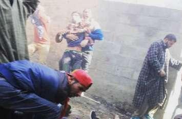 जम्मू कश्मीर: कुलगाम मुठभेड़ स्थल के पास हुआ धमाका, पांच नागरिकों की मौत, 40 घायल