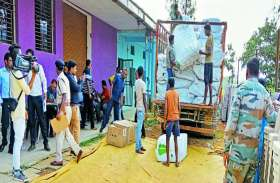 कांग्रेसियों ने भाजपा पर लगाया आरोप, कहा चुनाव में उपयोग करने लाया गया है एक ट्रक भरकर ये सामान