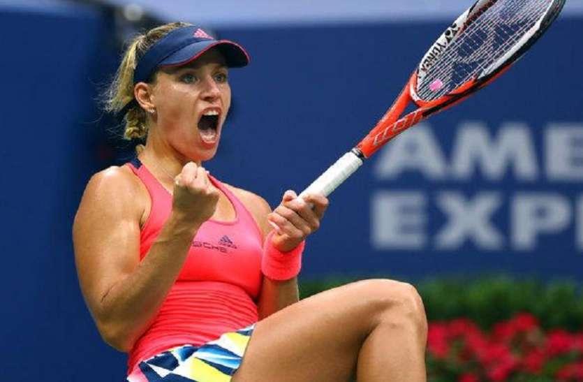 WTA Ranking: केर्बर दूसरे स्थान पर पहुंची, हालेप शीर्ष पर कायम