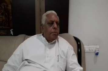हवामहल से पूर्व विधायक बृजकिशोर शर्मा से संवाददाता देवेन्द्र की खास बातचीत...