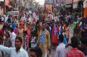 भगवान वाल्मीकि प्रकट दिवस की शोभायात्रा में झांकियों ने मन मोहा