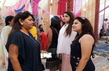 हैंडीक्राफ्ट मेले में जमकर हुई दिवाली की खरीदारी, आप भी देखें बाजार की रौनक की तस्वीरें