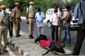 कायलाना रोड पर महिला का शव मिलने से फैली सनसनी, हत्या कर फेंकने का अंदेशा