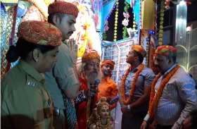 दुर्गापूजा महोत्सव पर तीर्थस्थल बन गया सुलतानपुर, हर तरफ गूंज रहे जय माता दी के जयकारे