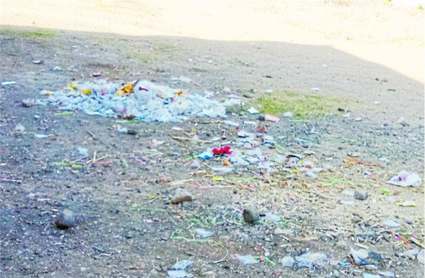 इस शहर में स्वच्छता के नाम करोड़ों रुपए खर्च, फिर भी गंदगी से पटा पड़ा