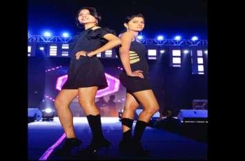 AIIMS Oriana 2018 : फेमिना मिस इंडिया कोयल राणा के साथ गल्र्स पार्टीसिपेंट्स ने किया रैंप वाक