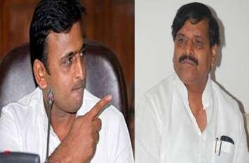 शिवपाल पर अखिलेश का बड़ा बयान-बोले-ए, बी, सी, डी टीम से नहीं भाजपा से है मेरी लड़ाई