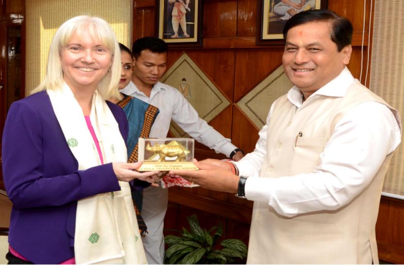 अमेरिकी कंसुलेट जनरल व बांग्लादेश के सहायक उच्चायुक्त ने सोनोवाल से की मुलाकात, इन मुद्यों पर हुई चर्चा