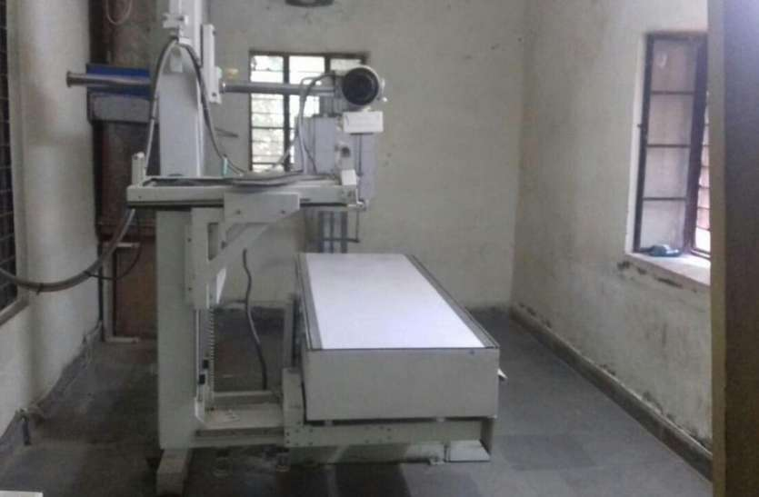 बीएमओ और सीएमएचओ अनजान और यहां आ गई लाखों रुपये की मशीन, सामने आई बड़ी बेपरवाही