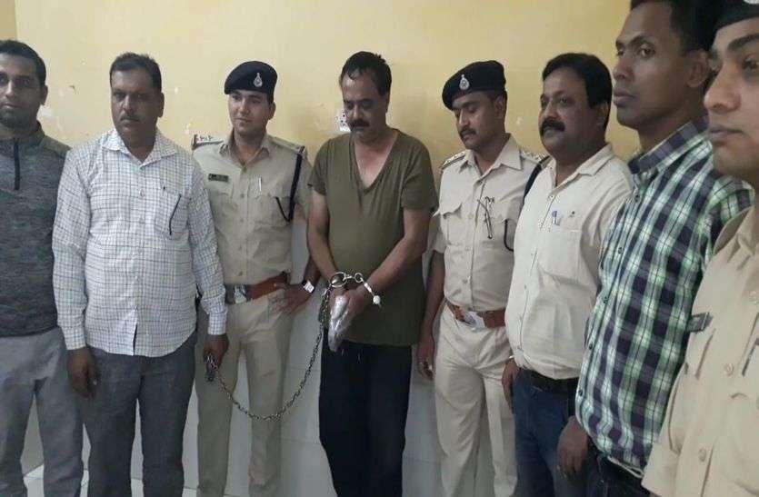 पुलिस को चकमा देकर भागे 18 मामलों के आरोपी बंटी लाला को पुलिस ने जयपुर से किया गिरफ्तार