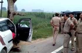 पुलिस की बदमाश से मुठभेड़, 50 हजार के इनामी बदमाश को पुलिस ने दबोचा