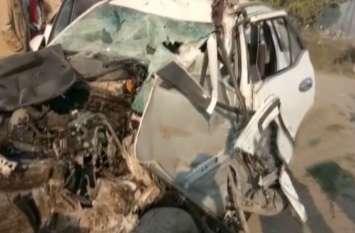 रोडवेज बस और फॉर्च्यूनर में जबरदस्त भिड़ंत, भाजपा नेता गंभीर रूप से घायल, दो की मौत