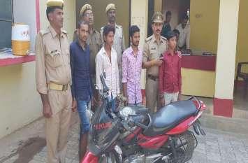 मुठभेड़ में पुलिस ने तीन अपहरणकर्ताओं को दबोचा, चंगुल से मुक्त कराया 12वर्षीय बालक