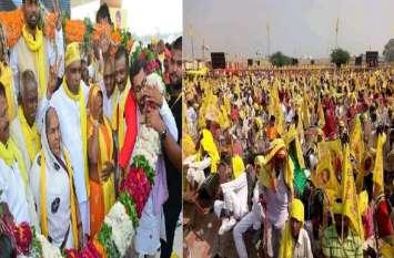 सीएम योगी की सभा से अधिक जुट रही है ओमप्रकाश राजभर की रैली में भीड़, बीजेपी हुई परेशान