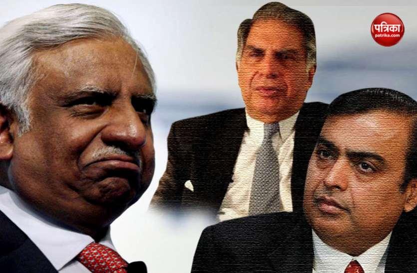 मुश्किल में फंसे जेट एयरवेज के मालिक नरेश गोयल ने रतन टाटा व मुकेश अंबानी से मांगी मदद